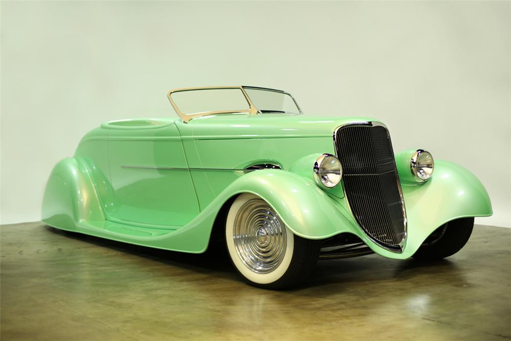 1934 FORD CUSTOM ROADSTER - Front 3/4 - 137887