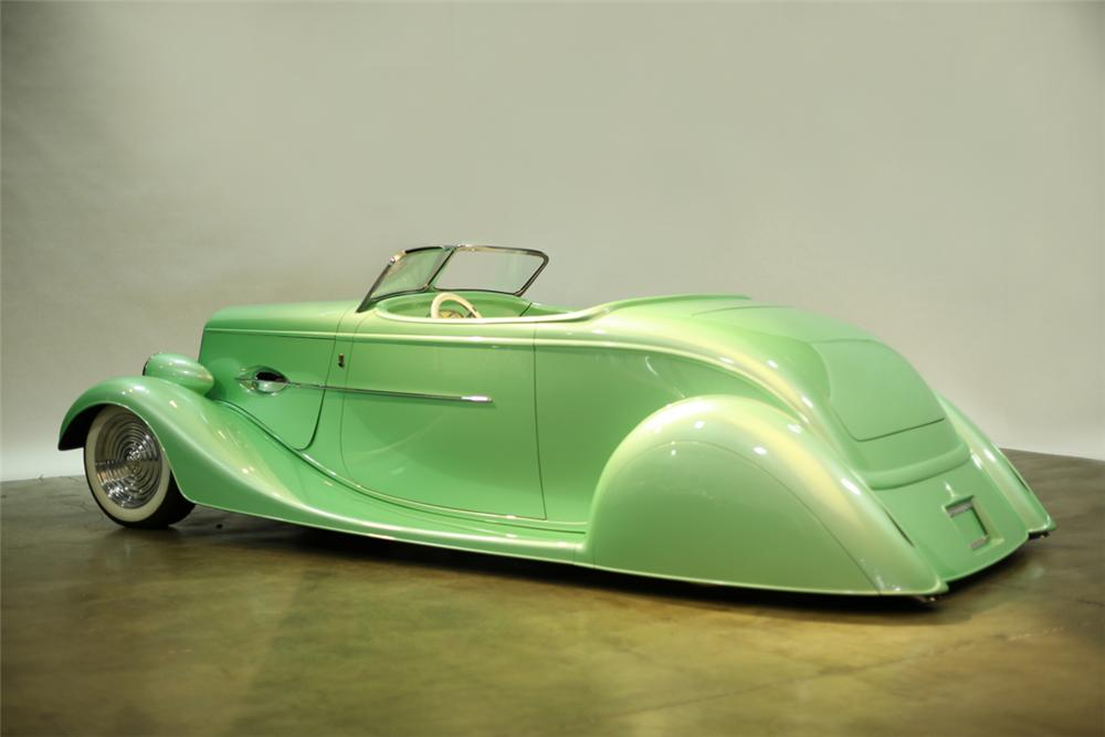 1934 FORD CUSTOM ROADSTER - Rear 3/4 - 137887