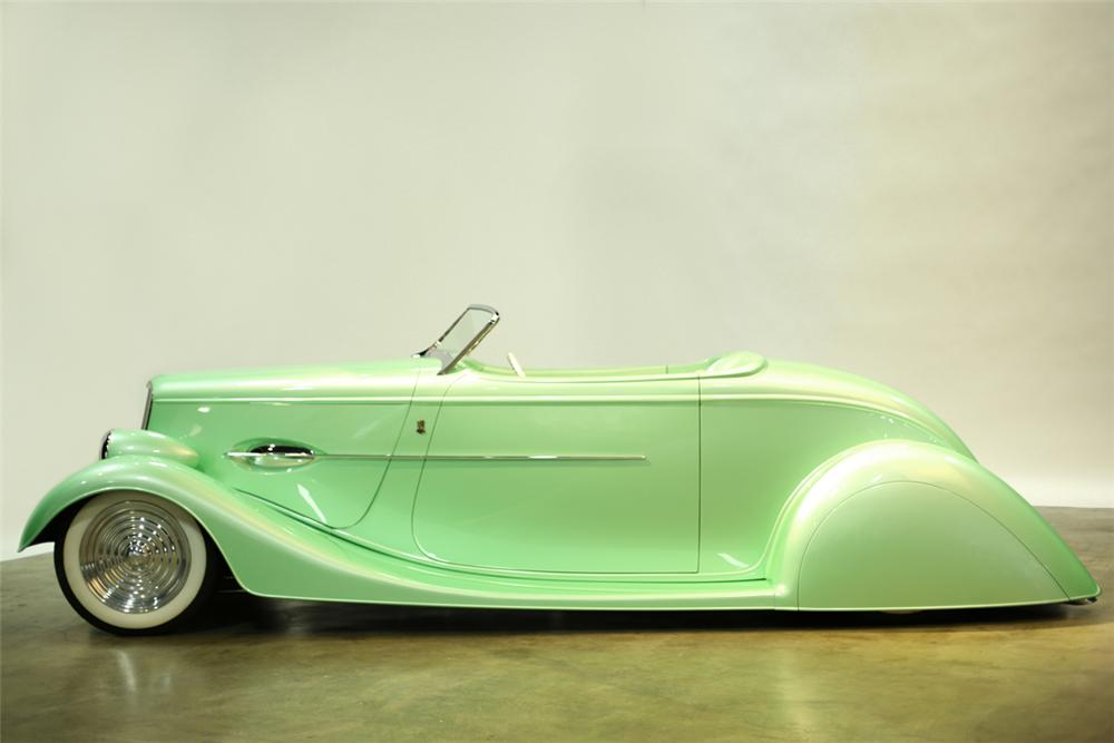 1934 FORD CUSTOM ROADSTER - Side Profile - 137887