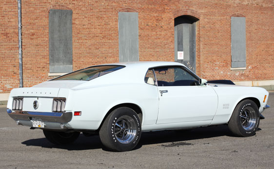 1970 FORD MUSTANG BOSS 429 FASTBACK - Rear 3/4 - 137888