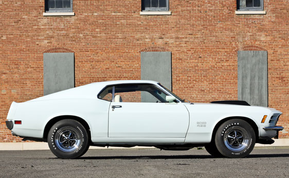 1970 FORD MUSTANG BOSS 429 FASTBACK - Side Profile - 137888