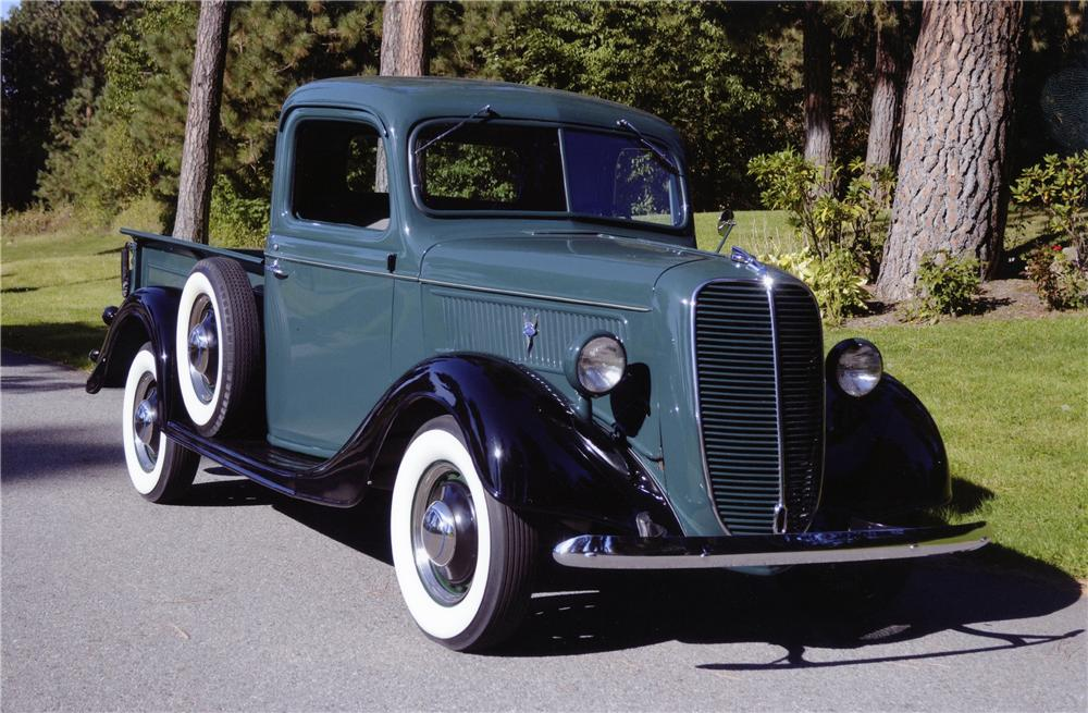 1937 FORD 1/2 TON PICKUP - Front 3/4 - 137892