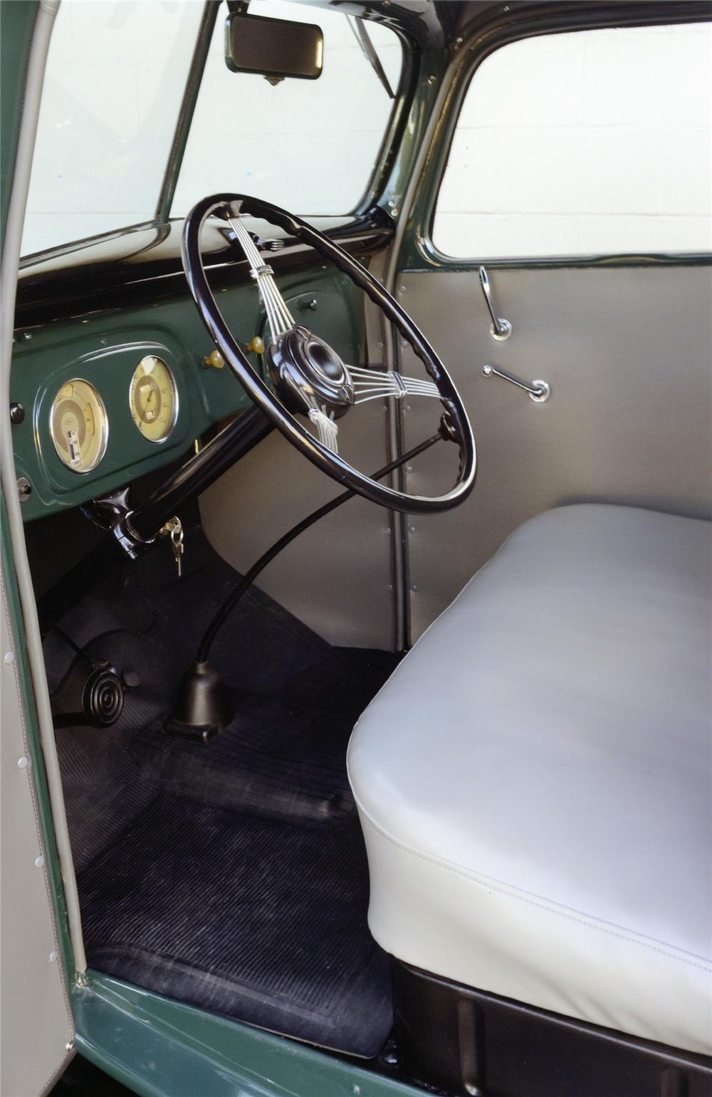 Interior: 1937 FORD 1/2 TON PICKUP