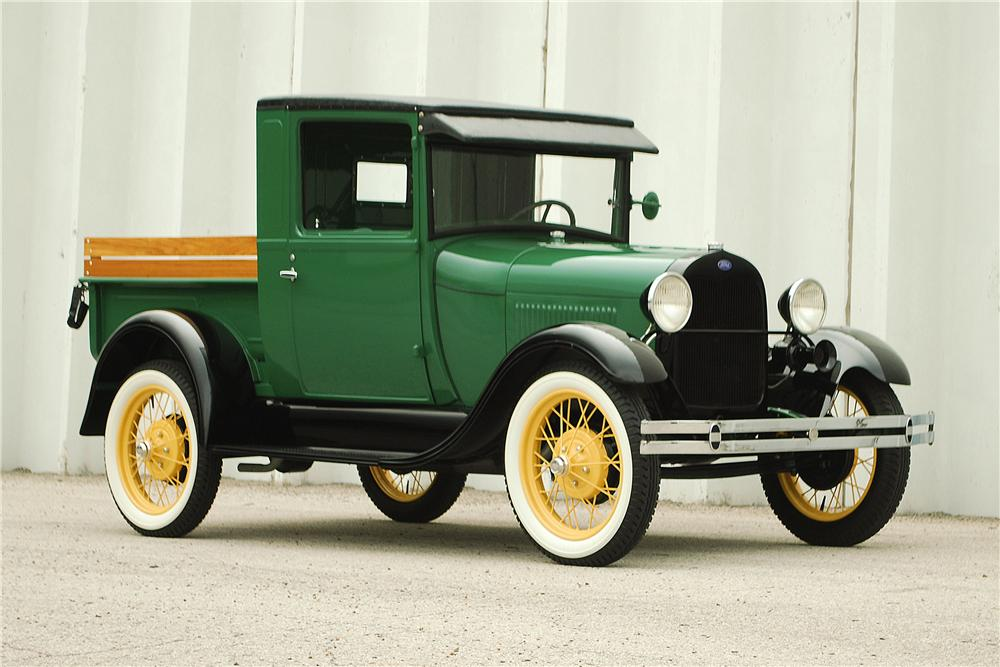 1929 ford model a pickup 137901. Black Bedroom Furniture Sets. Home Design Ideas