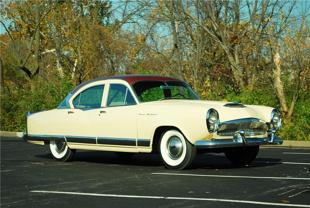 1954 Kaiser Manhattan 4 Door Sedan 137909