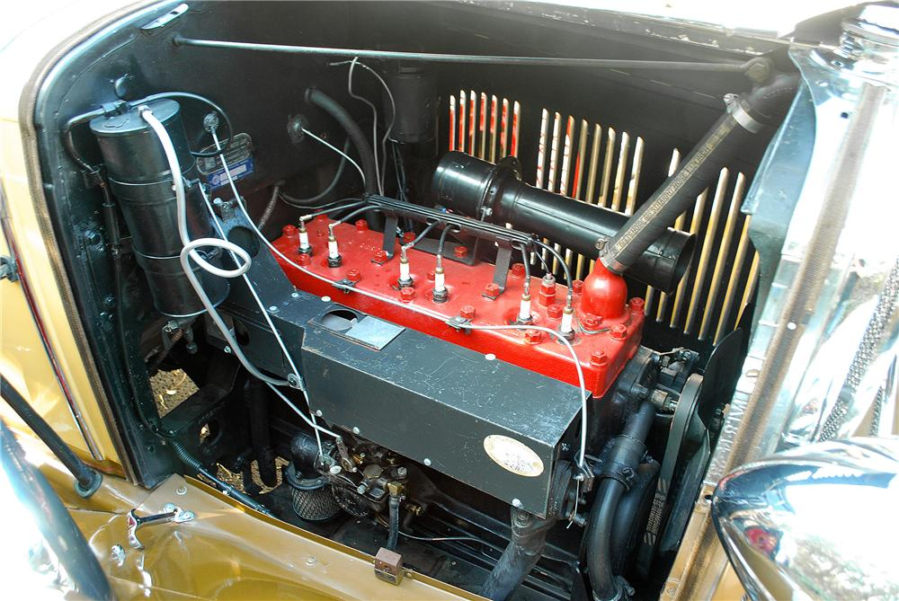1930 DE SOTO K ROADSTER - Engine - 137910