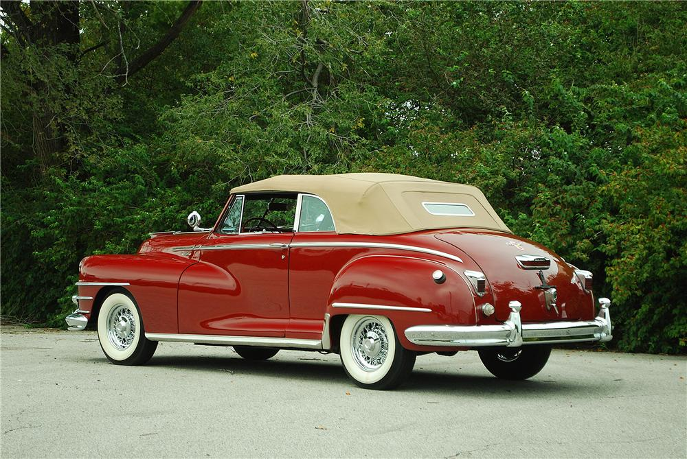 1947 CHRYSLER WINDSOR CONVERTIBLE - Rear 3/4 - 137912