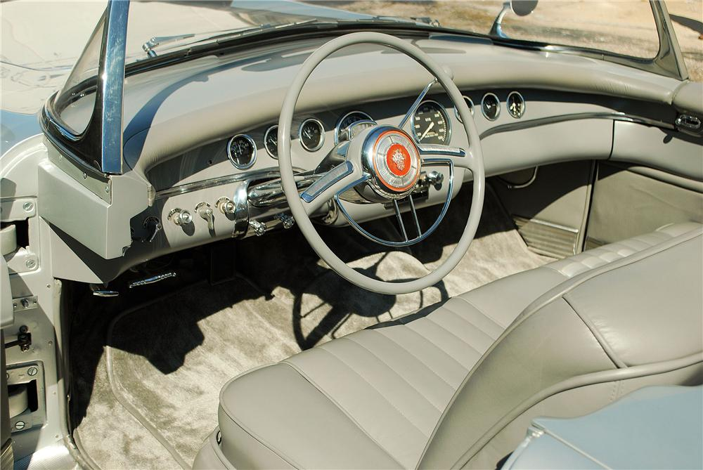 1954 PACKARD PANTHER CONVERTIBLE - Interior - 137921