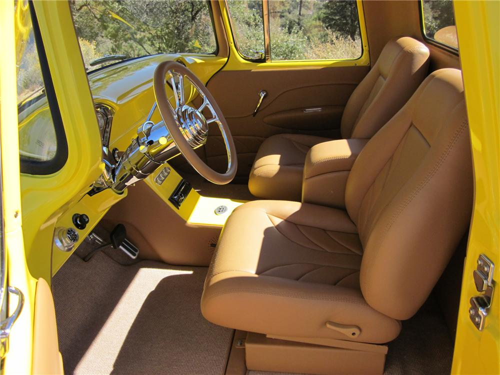 1957 GMC 1500 CUSTOM STEPSIDE PICKUP - Interior - 137926