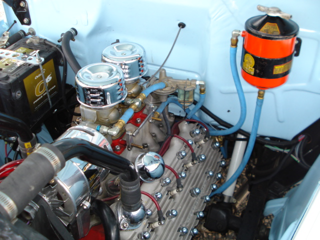 1951 FORD F-3 CUSTOM PICKUP - Engine - 137928