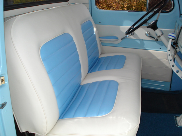 1951 FORD F-3 CUSTOM PICKUP - Interior - 137928