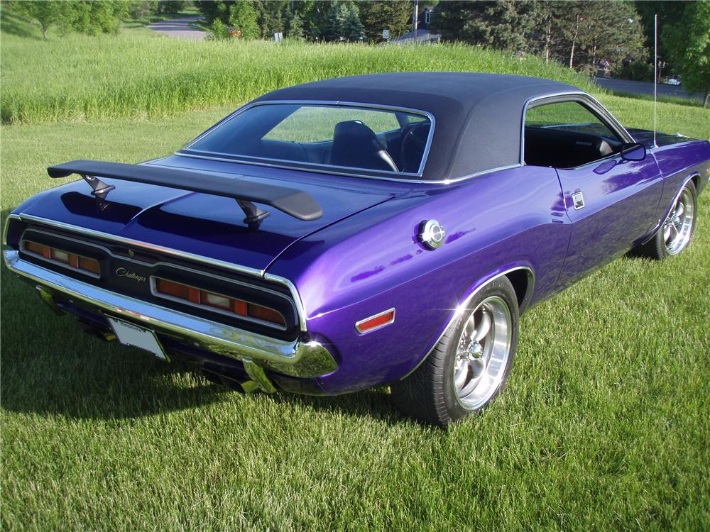 1971 dodge challenger 2 door coupe 137930. Black Bedroom Furniture Sets. Home Design Ideas