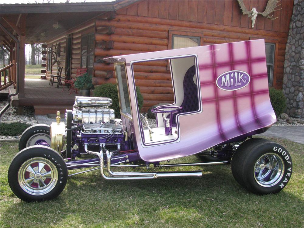 1965 CUSTOM BUILT MILK TRUCK - Side Profile - 137932