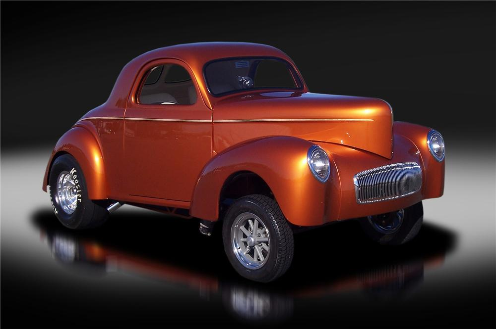 1941 WILLYS CUSTOM COUPE - Front 3/4 - 137935