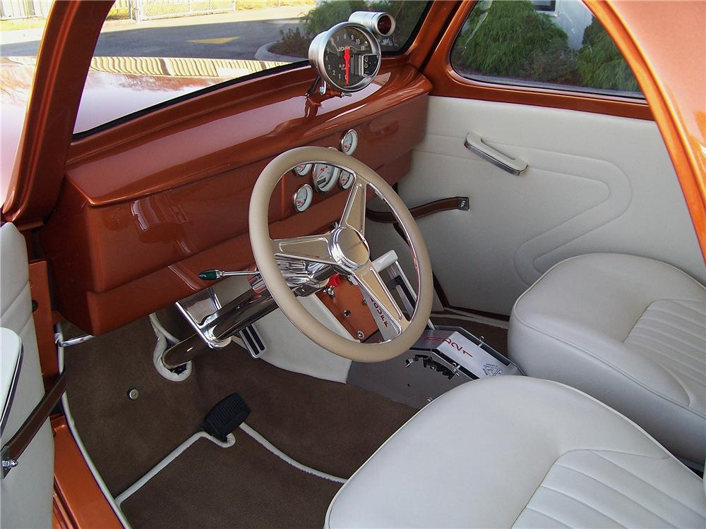 1941 WILLYS CUSTOM COUPE - Interior - 137935
