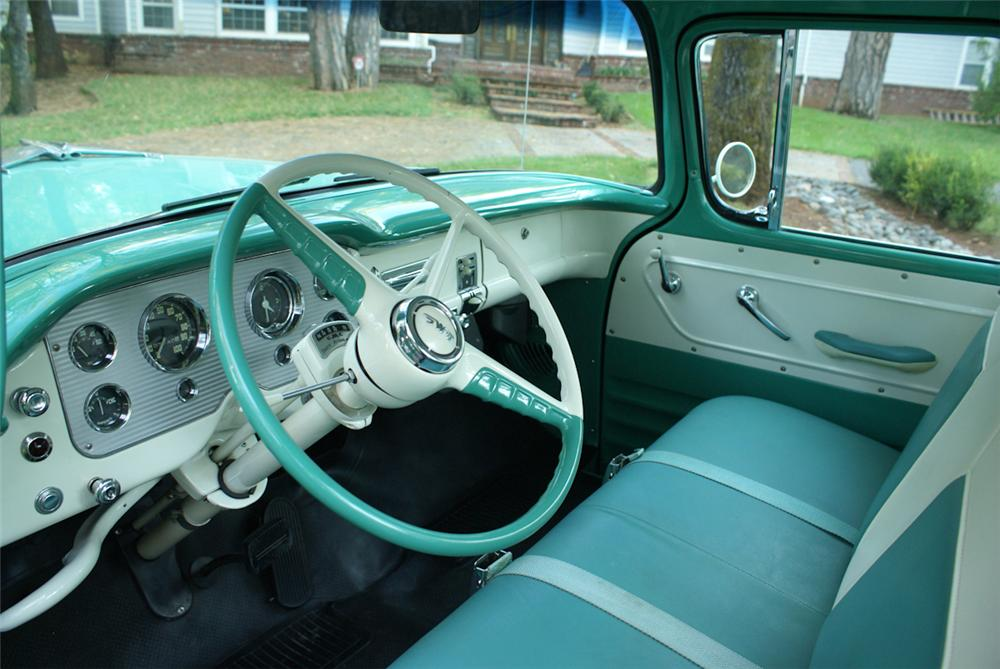 1956 GMC SUBURBAN PICKUP - Interior - 137937