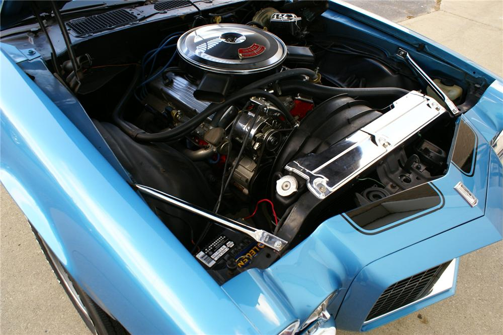 1970 CHEVROLET CAMARO Z/28 RS COUPE - Engine - 137939