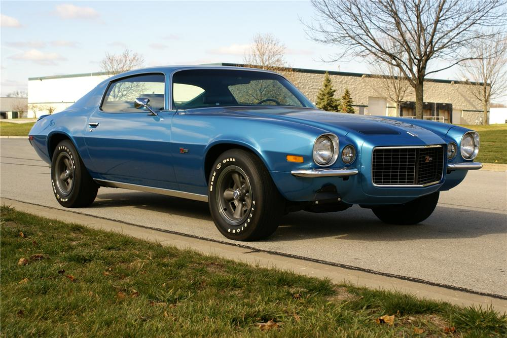 1970 CHEVROLET CAMARO Z/28 RS COUPE - Front 3/4 - 137939