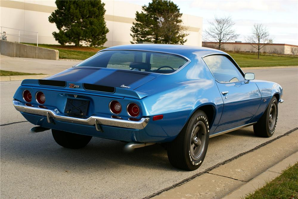 1970 CHEVROLET CAMARO Z/28 RS COUPE - Rear 3/4 - 137939