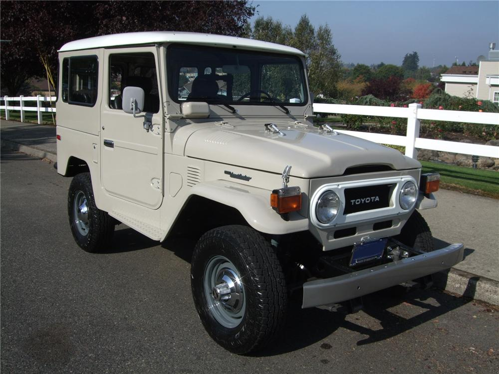 1978 toyota land cruiser fj 40 4x4 suv 137940. Black Bedroom Furniture Sets. Home Design Ideas