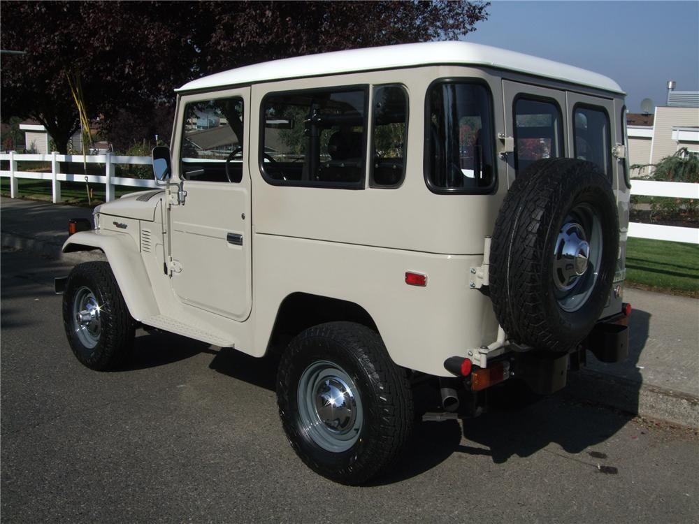 1978 TOYOTA LAND CRUISER FJ-40 4X4 SUV - Rear 3/4 - 137940