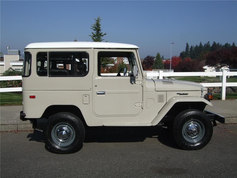 1978 TOYOTA LAND CRUISER FJ-40 4X4 SUV - Side Profile - 137940