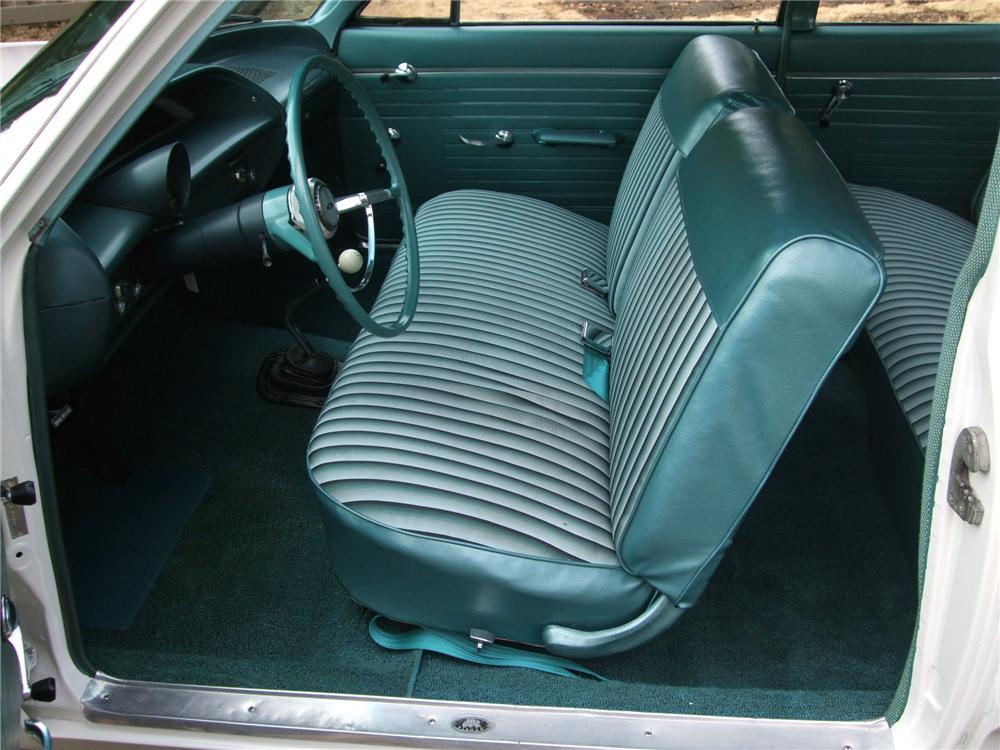 1964 CHEVROLET BISCAYNE CUSTOM 2 DOOR SEDAN - Interior - 137941