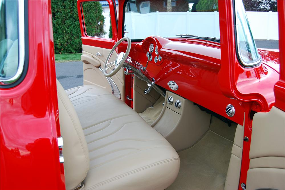 1956 FORD F-100 CUSTOM PICKUP - Interior - 137946