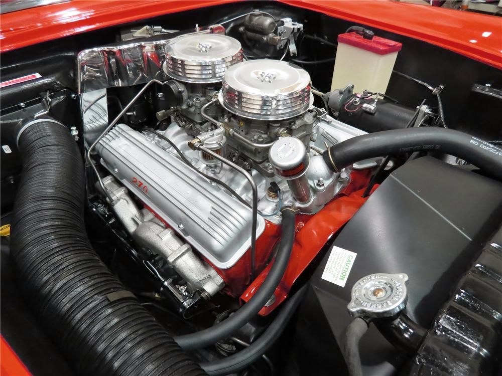 1957 CHEVROLET CORVETTE CONVERTIBLE - Engine - 137947
