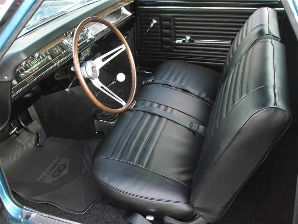 1967 CHEVROLET EL CAMINO PICKUP - Interior - 137950