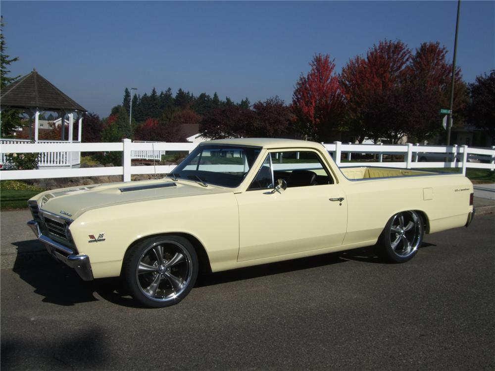 1967 CHEVROLET EL CAMINO CUSTOM PICKUP - Side Profile - 137954