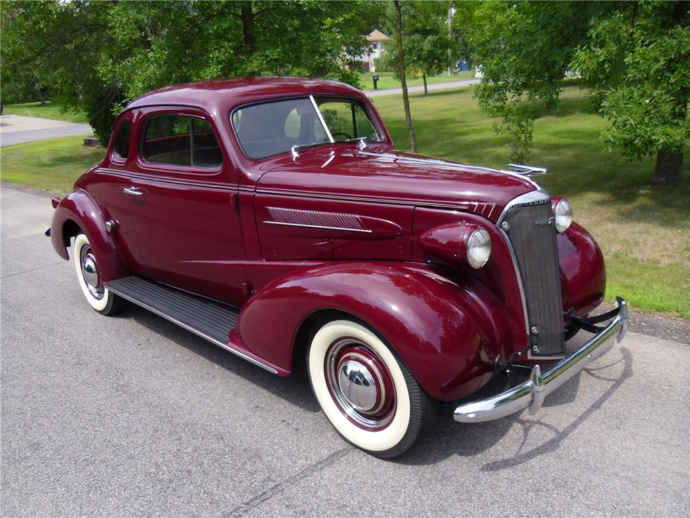 1937 Chevrolet Master Deluxe 2 Door Coupe 137960