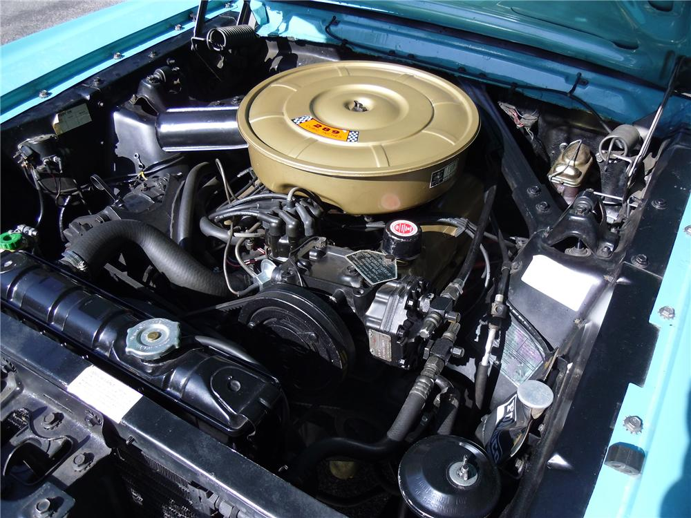 1965 FORD MUSTANG CONVERTIBLE - Engine - 137962