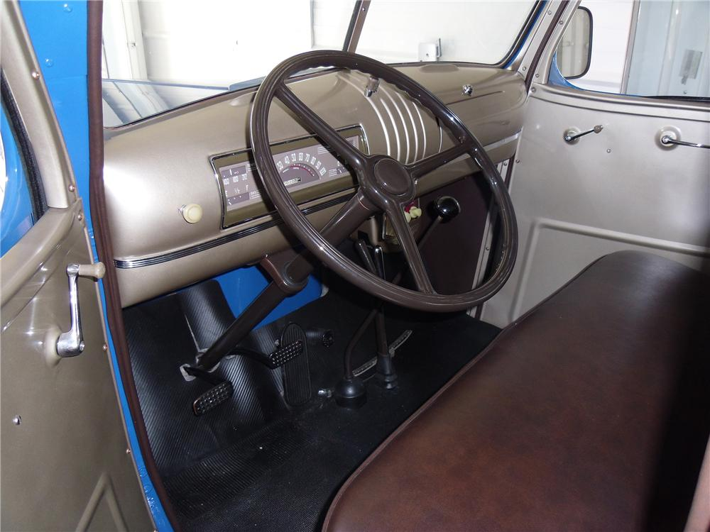 1946 CHEVROLET 3100 PICKUP - Interior - 137966