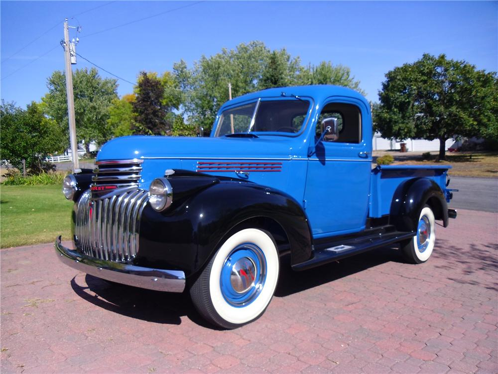 1946 CHEVROLET 3100 PICKUP - Side Profile - 137966