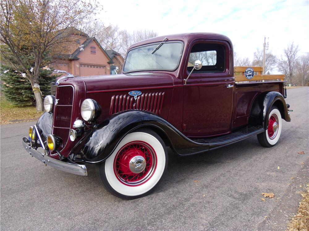 1935 ford pickup 137967. Black Bedroom Furniture Sets. Home Design Ideas