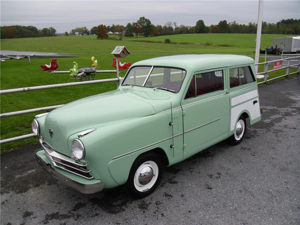 1950 CROSLEY SUPER STATION WAGON - Front 3/4 - 137968