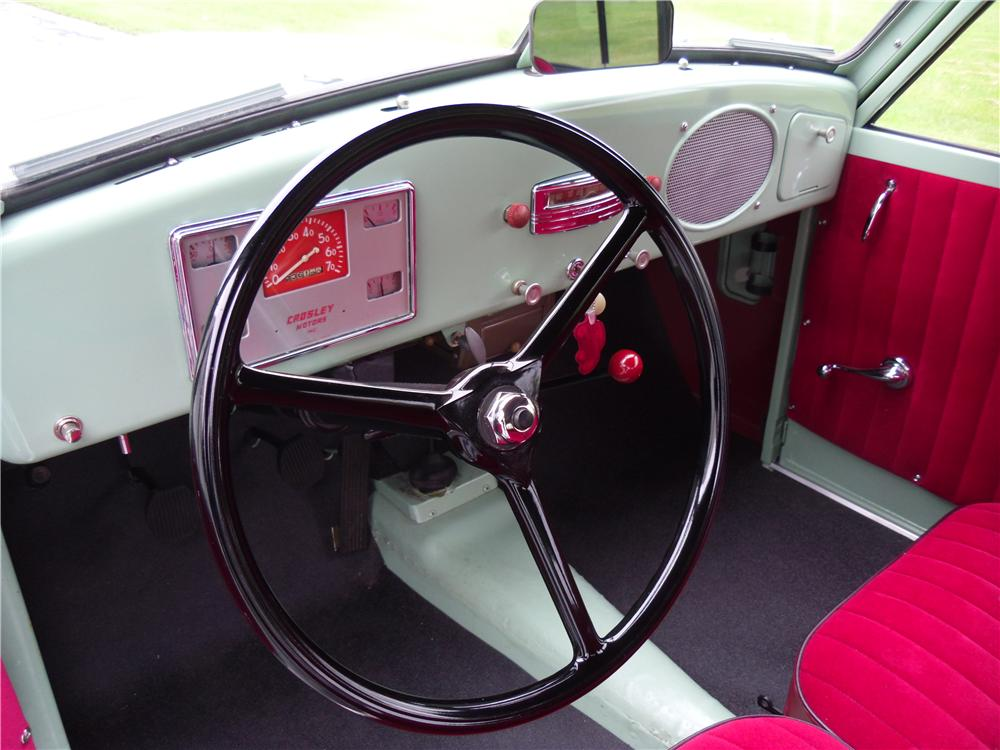 1950 CROSLEY SUPER STATION WAGON - Interior - 137968