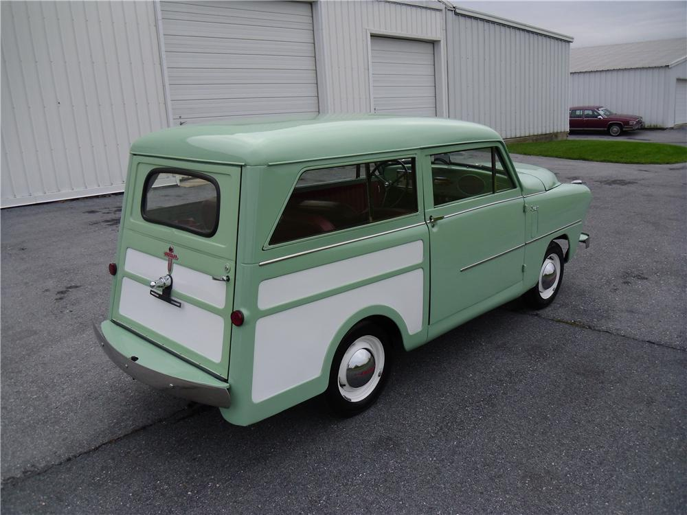 1950 CROSLEY SUPER STATION WAGON - Rear 3/4 - 137968
