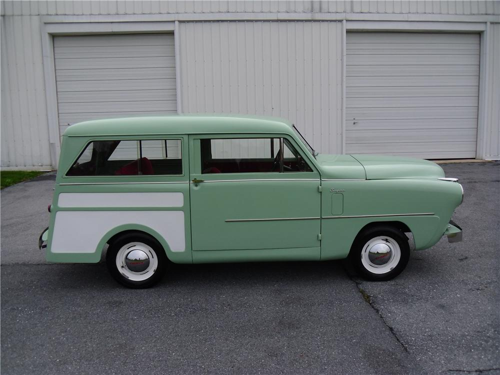 1950 CROSLEY SUPER STATION WAGON - Side Profile - 137968