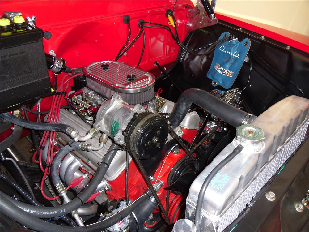 1957 CHEVROLET CAMEO CUSTOM PICKUP - Engine - 137972