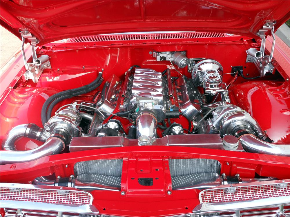 1959 CHEVROLET IMPALA CUSTOM CONVERTIBLE - Engine - 137978