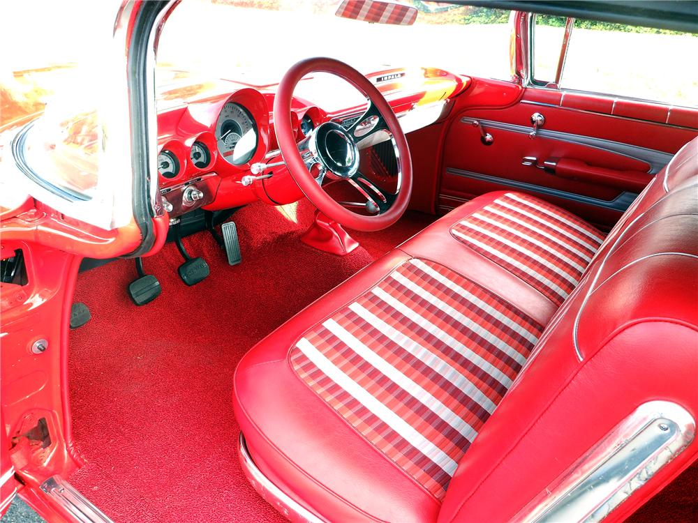 1959 CHEVROLET IMPALA CUSTOM CONVERTIBLE - Interior - 137978