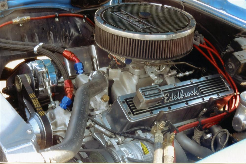 1969 CHEVROLET CAMARO CUSTOM CONVERTIBLE - Engine - 137981