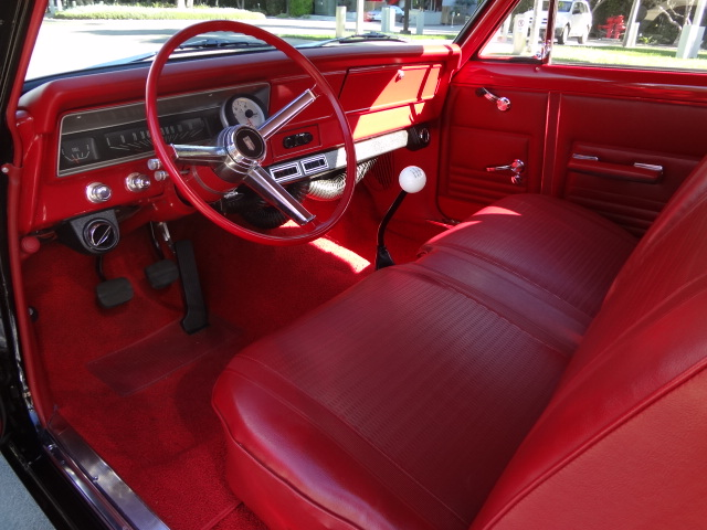 1967 CHEVROLET CHEVY II CUSTOM 2 DOOR - Interior - 137985