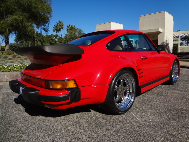 1986 PORSCHE 930 TURBO SLANTNOSE - Rear 3/4 - 137986
