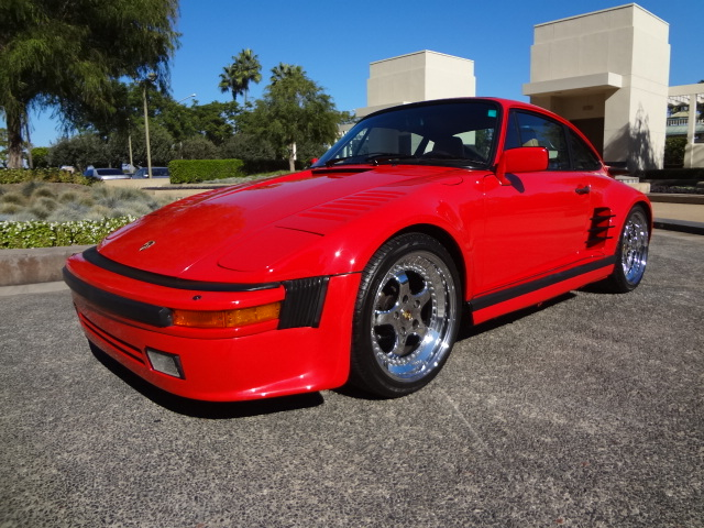 1986 PORSCHE 930 TURBO SLANTNOSE - Side Profile - 137986