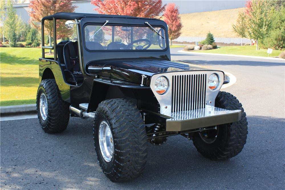 1947 WILLYS CJ2A CUSTOM - Front 3/4 - 137991