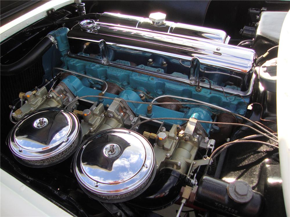 1954 CHEVROLET CORVETTE CONVERTIBLE - Engine - 137994