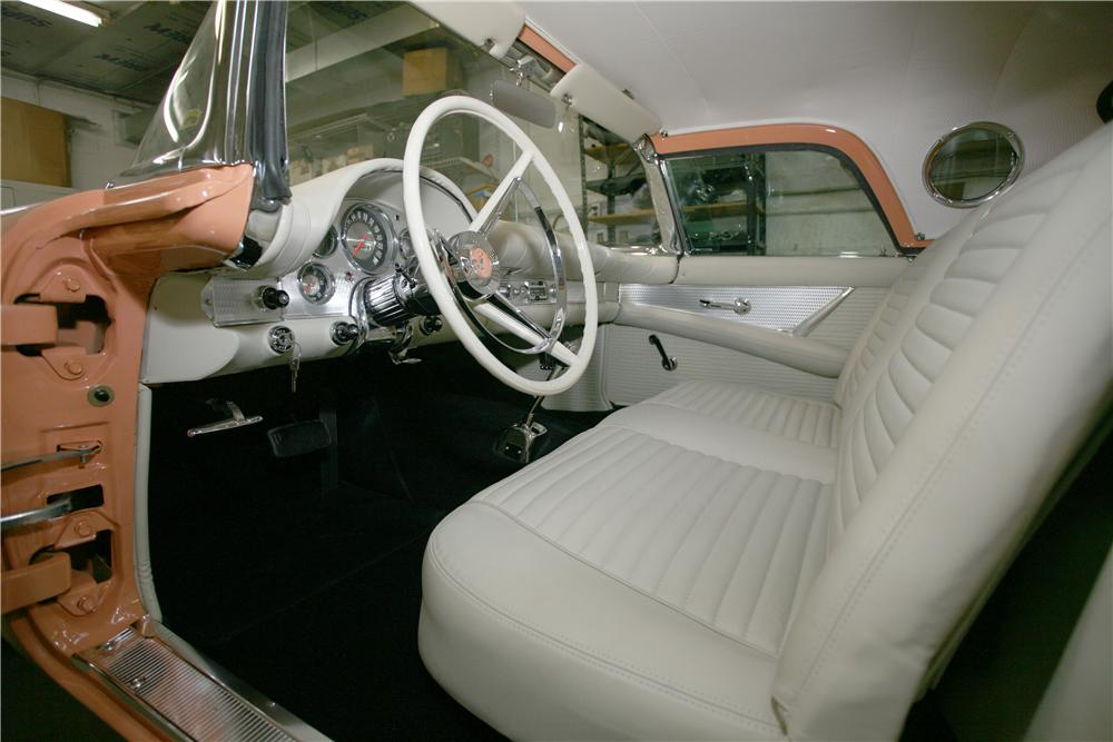 1957 FORD THUNDERBIRD CONVERTIBLE - Interior - 138000